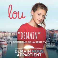Lou est dans la série «Demain nous appartient» sur TF1