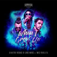 « WHEN I GROW UP » signe le retour de WIZ KHALIFA avec DIMITRI VEGAS & LIKE MIKE