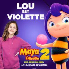 Lou chante dans « Maya L'Abeille 2 : les jeux du miel » !