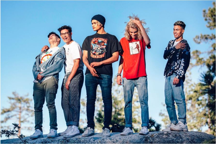 PRETTYMUCH : leur nouveau clip « Summer On You » !