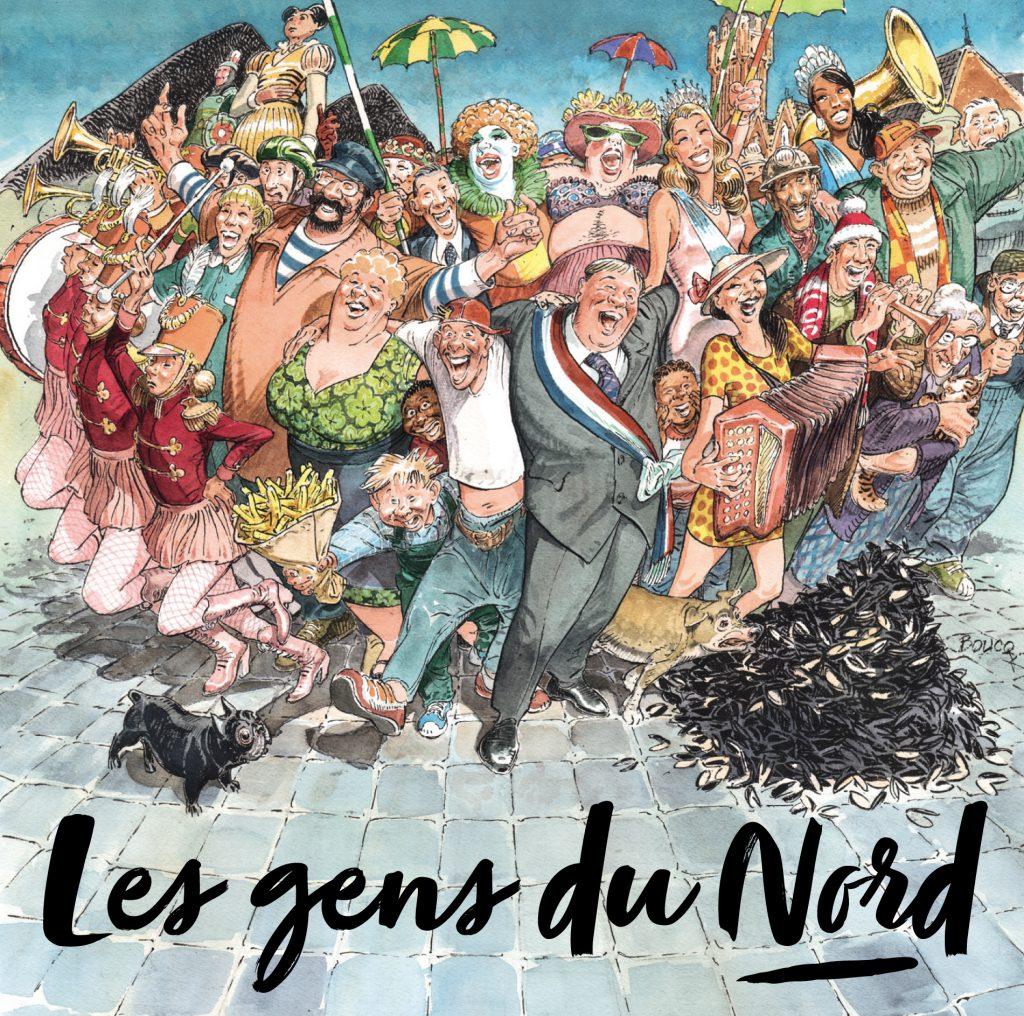 «Les Gens du Nord» est numéro 3 des meilleures ventes en France !