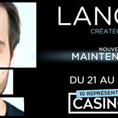 Luc Langevin : nouveau spectacle «Maintenant Demain»