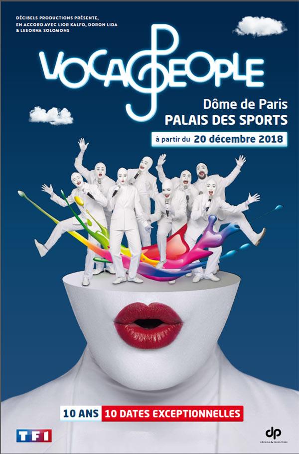 Le retour en France des Voca People !