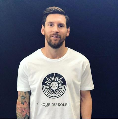 Cirque du Soleil : leur tournée 2019 concernera Lionel Messi !