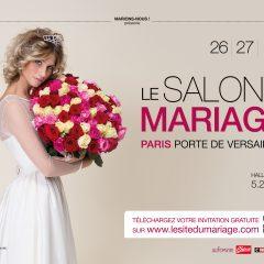 Le Salon du Mariage aura lieu les 26 et 27 janvier