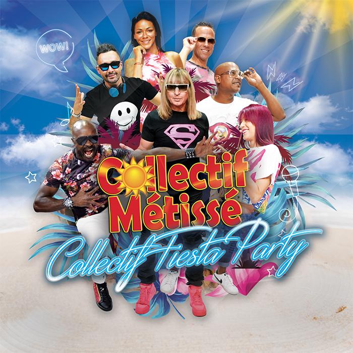 Collectif Métissé : De retour avec un nouvel album « Collectif Fiesta Party »